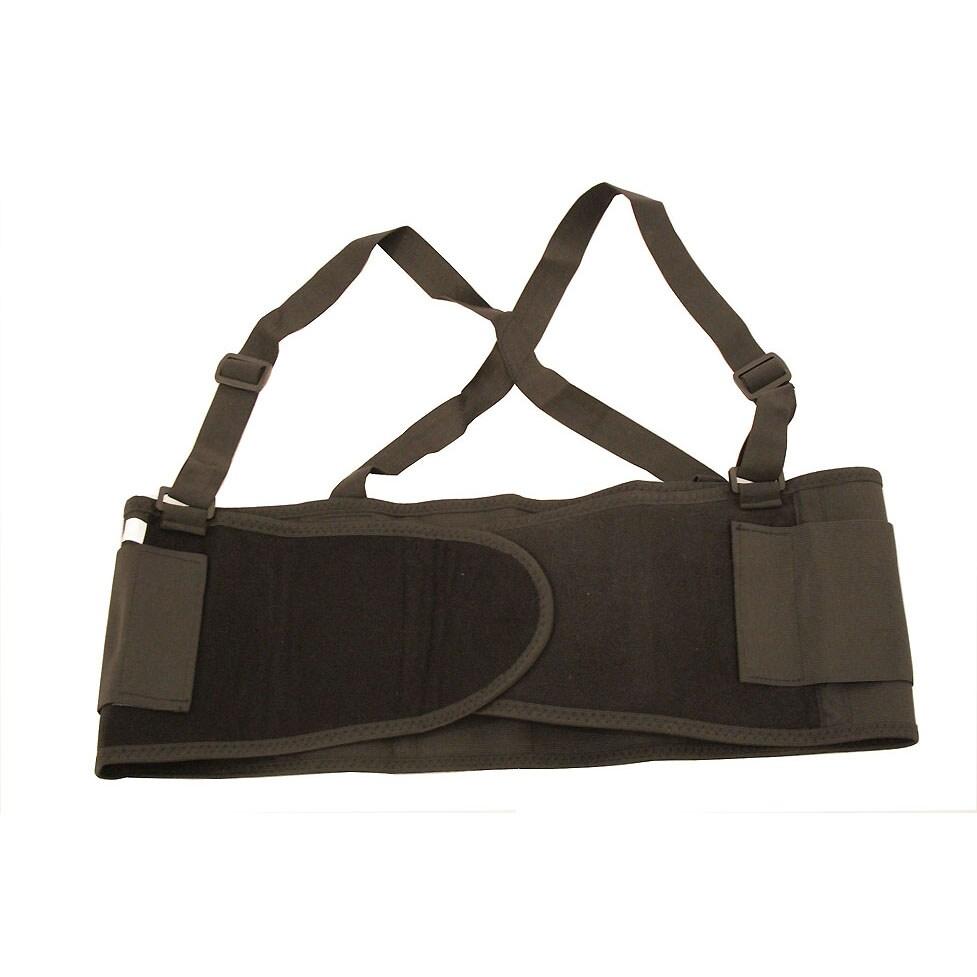 Large Black Back Support Belt