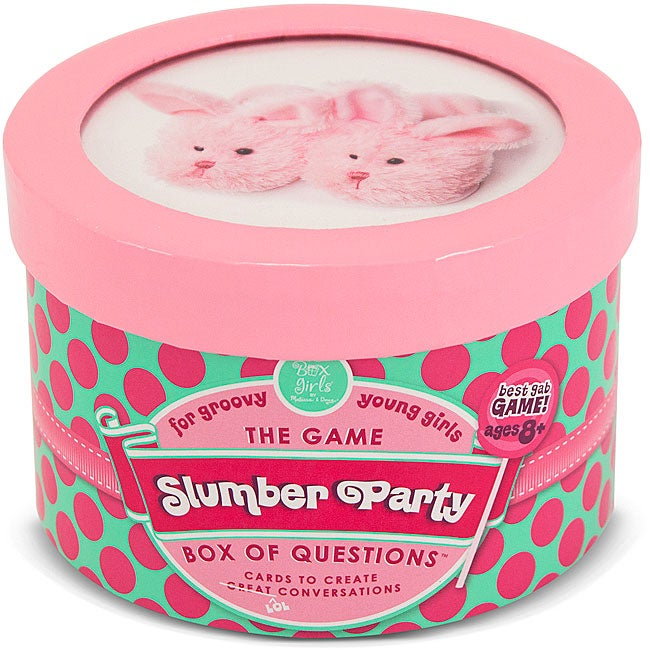 Melissa & Doug Slumber Party Box of Questions Trivia Card Game