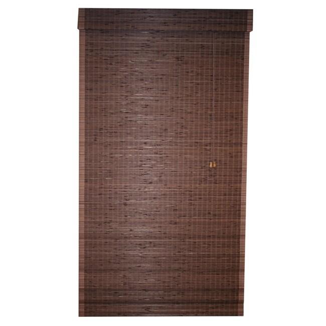 Cyprus Cocoa 71x64-inch Roman Shade