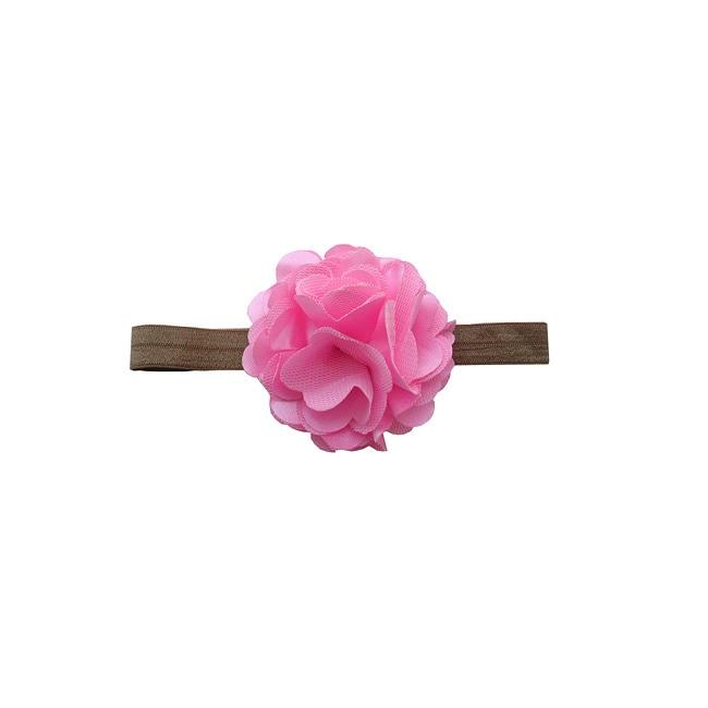 Satin Flower Headband
