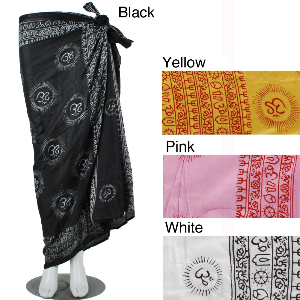 Lakhays Collectin Om Sarong (India)