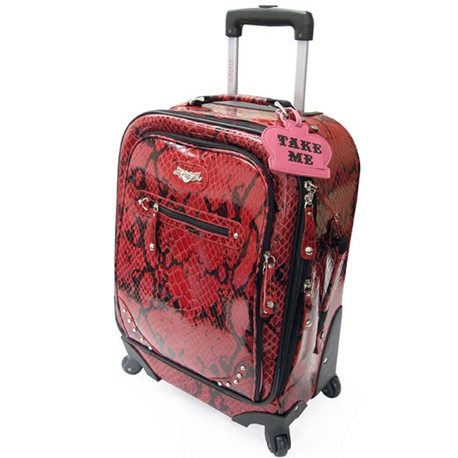 Kathy Van Zeeland Bohemian 20-inch Expandable Carry-on Spinner Upright
