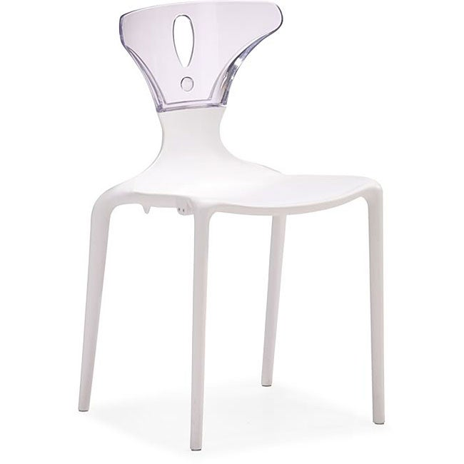 Zuo White Askew Dining Chair (Set of 4)