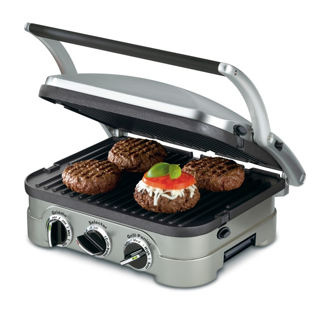 Cuisinart GR-4NFR 5-in-1 Griddler (Refurbished)