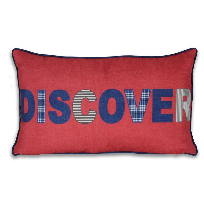 Discover 12x20-inch Pillow