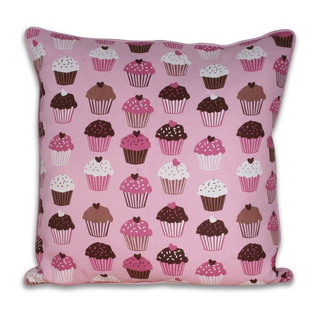 20 x 20 inch Cupcakes Pillow