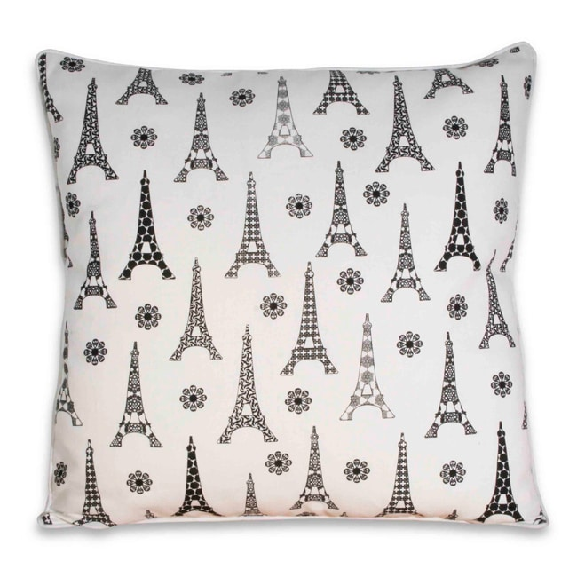 Little Paris Square Pillow