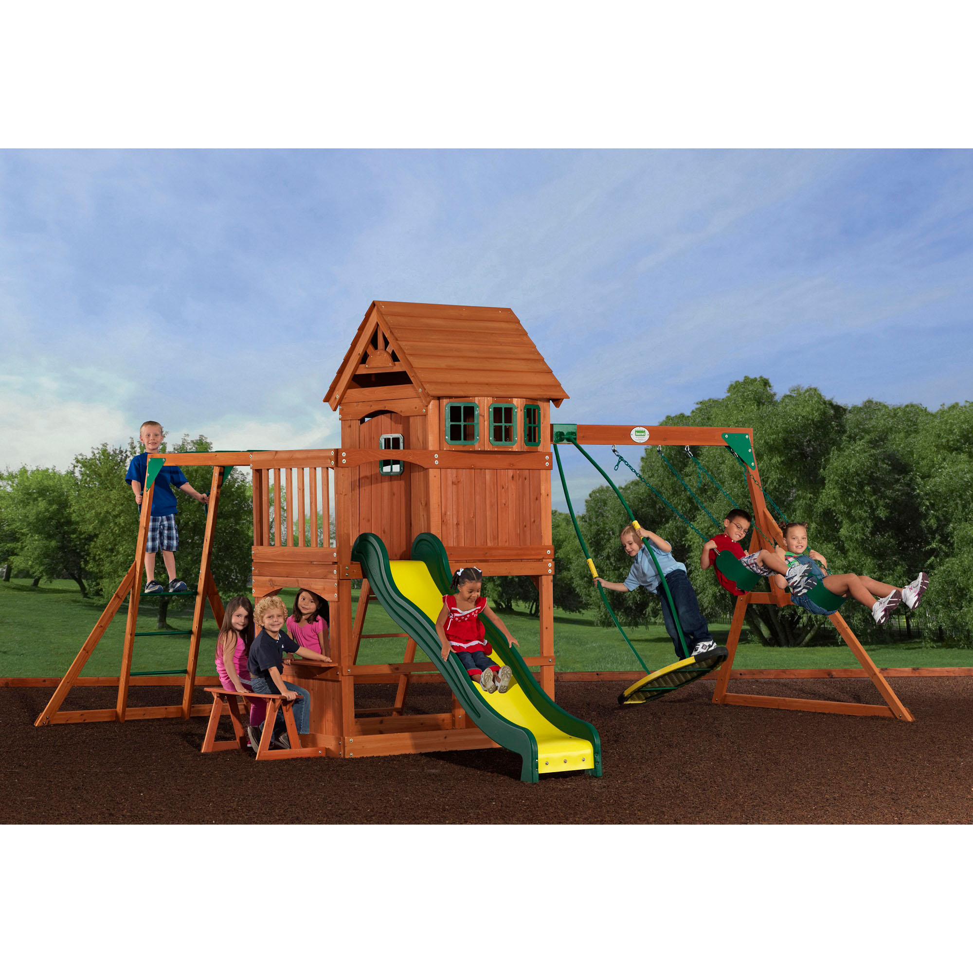 Backyard Discovery Montpelier All Cedar Swing Set ...