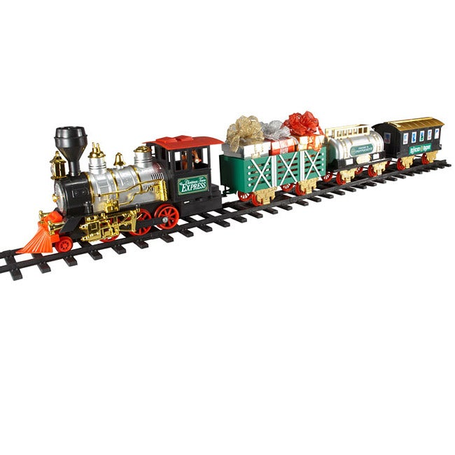 Midscale Battery Operated 4 Car Christmas Train