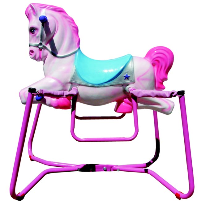 "28"" Spring Bounce Wonder Horse Pink"