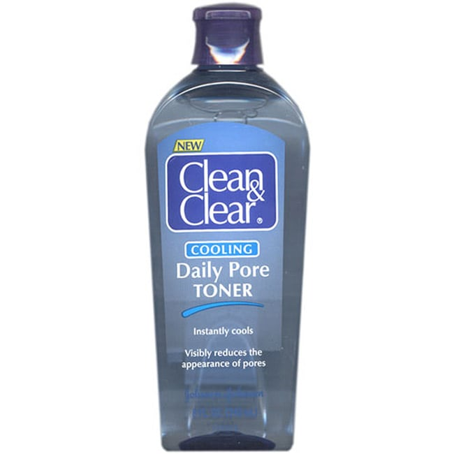 Clean & Clear Cooling Daily Pore 8-ounce Toner (Pack of 4)