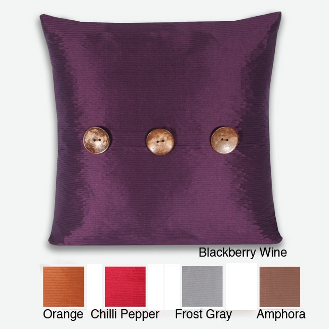Porter Button 20-inch Pillow