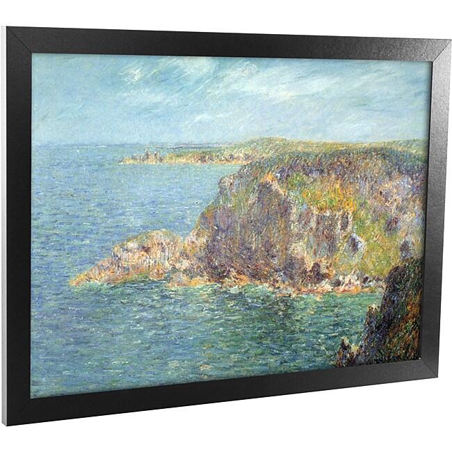 Loiseau 'Cape Freheil' Framed Canvas Art