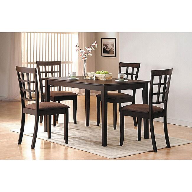 Cardiff Espresso Finish Side Chair (Set of 2)