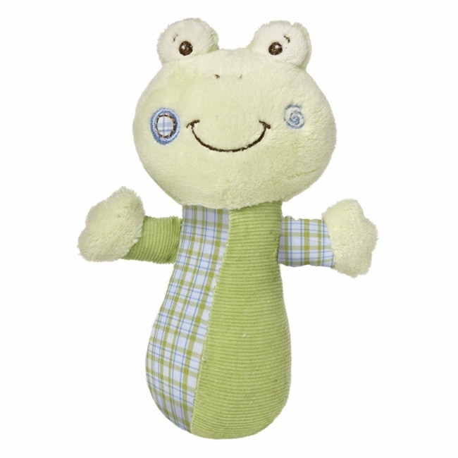 Mary Meyer Baby Cheery Cheeks Hop Hop Frog Rattle