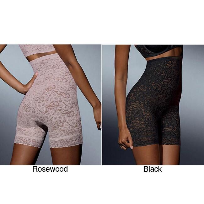 Bali Women's Lace High-waist Thigh-slimming Underwear