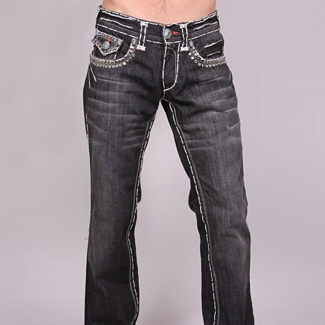 Laguna Beach Men's 'Redondo Beach' Black Wash Jeans