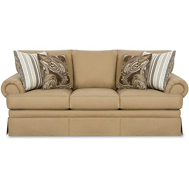 Beautyrest Powell Fawn Sofa