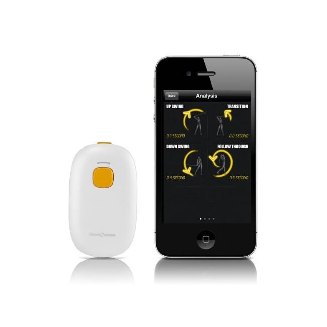 Golf Sense Revolutionary White Plastic Feedback 3-D Motion Sensor