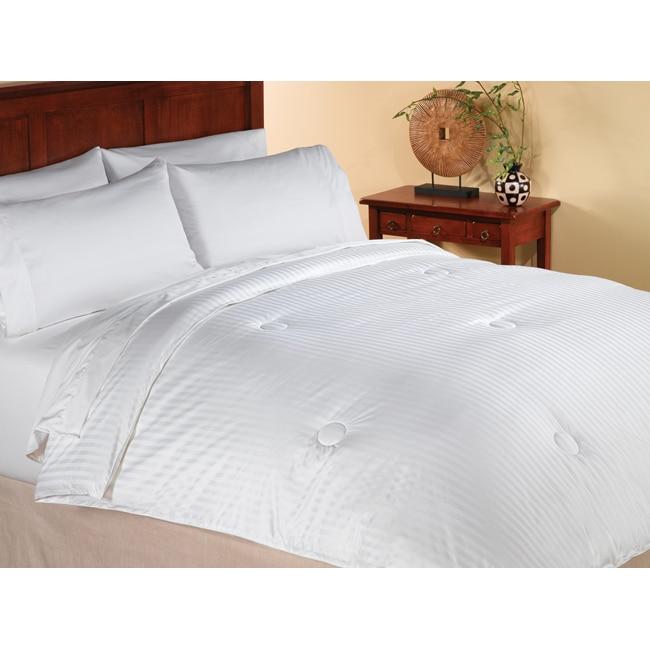 Summer Weight Warmth White Down Alternative Comforter