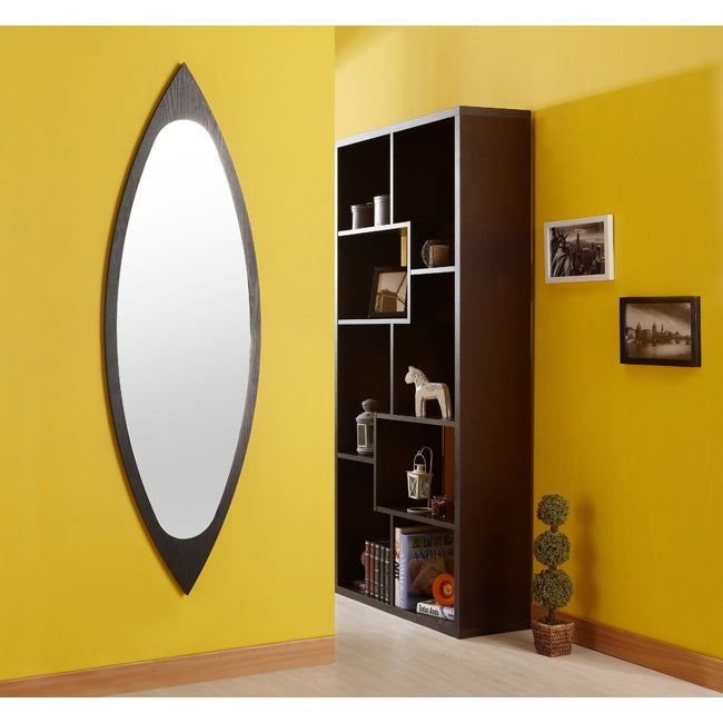 Furniture of America Black Full Body Mirror That Meets the Eye