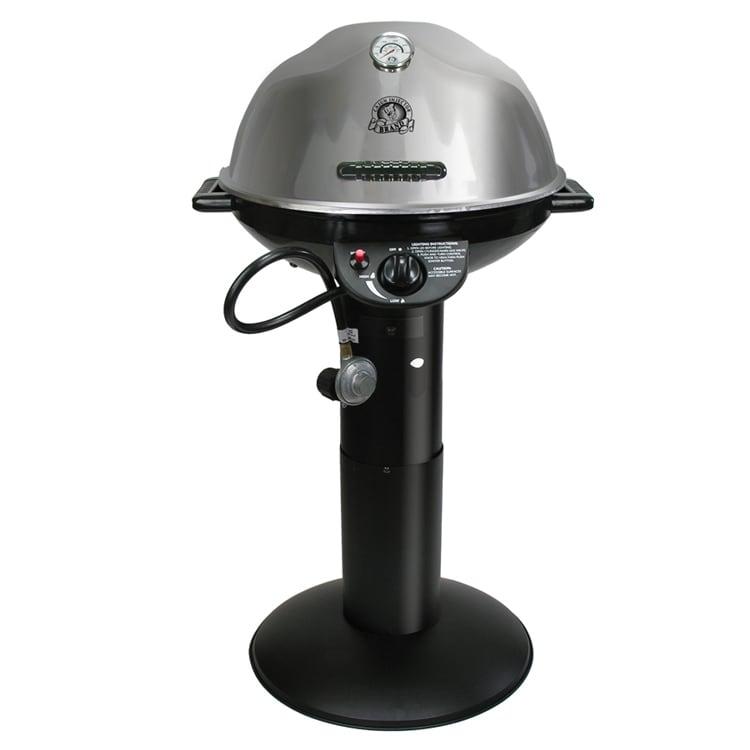 Cajun Injector Stainless Propane Pedestal Grill