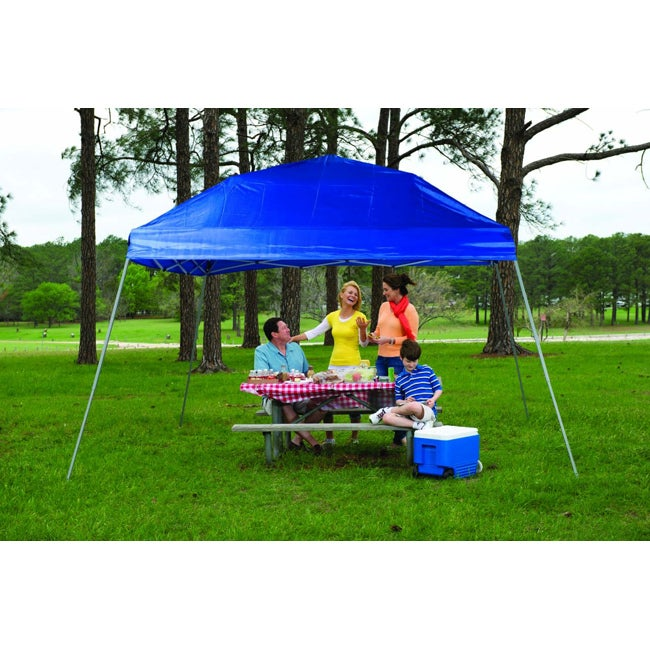 Fast Set Instant Pop Up Slant Wall Canopy (12' x 12')