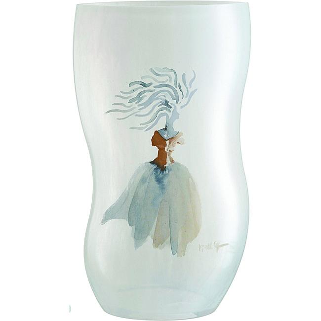 Kosta Boda Catwalk White Vase