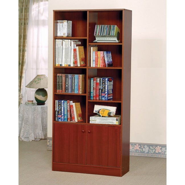 Verden Cherry Book Shelf Cabinet