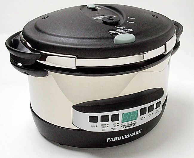 Farberware FPC800V 8-quart Oval Pressure Cooker ...