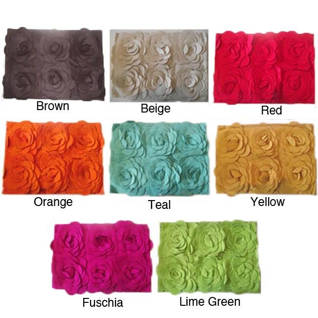 Luxury Wool Sayyada Sunflower Pillow