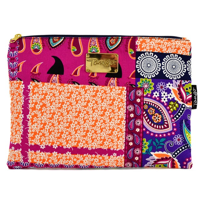 Tango Bright Patchwork Travel Utility Bag