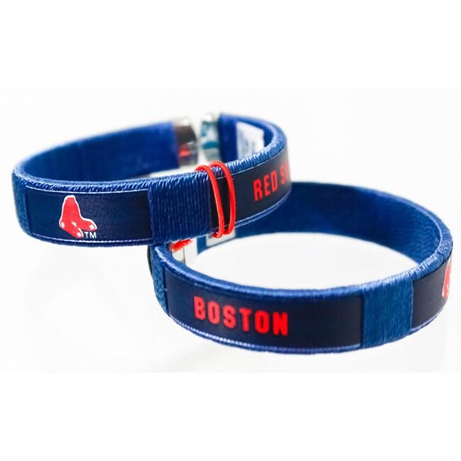 Siskiyou MLB Boston Red Sox Fan Band Bracelet