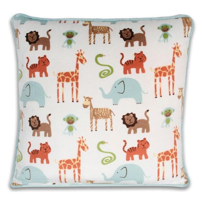 Safari Baby Printed Pillow