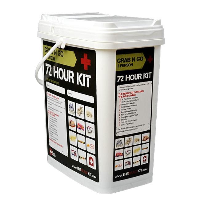 Grab-N-Go 72-hour Survival Kit