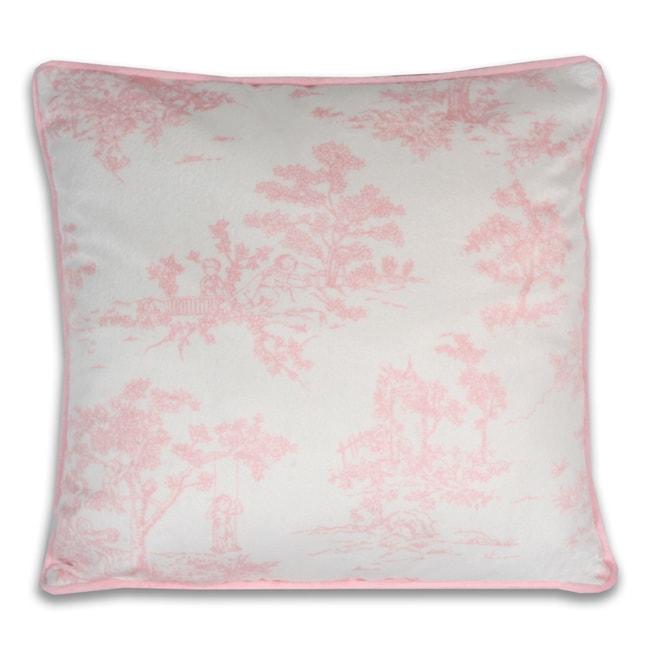 Vintage Toile Decorative Printed Pillow