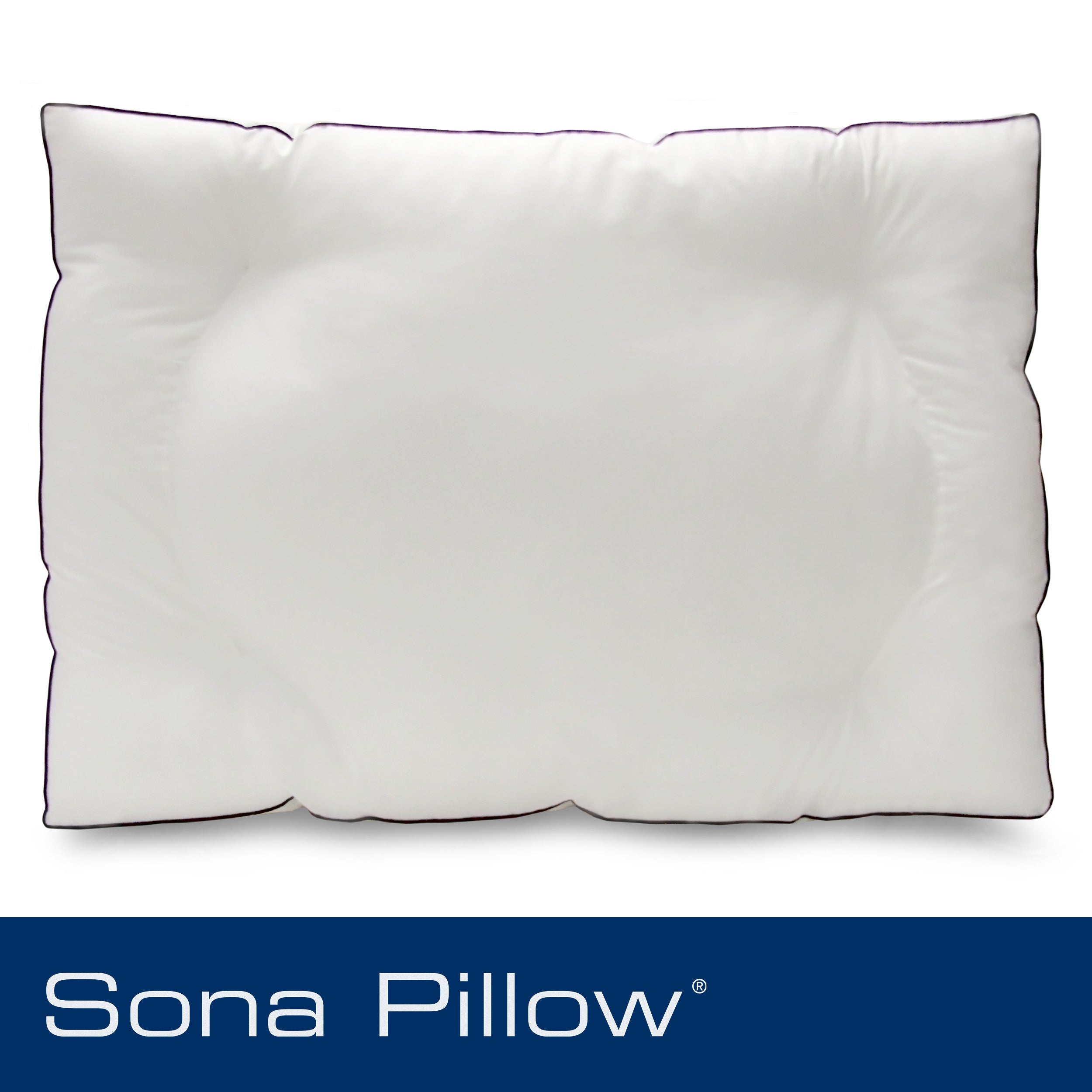 Sona Stomach Sleeper Jumbo-size Gusseted Pillow