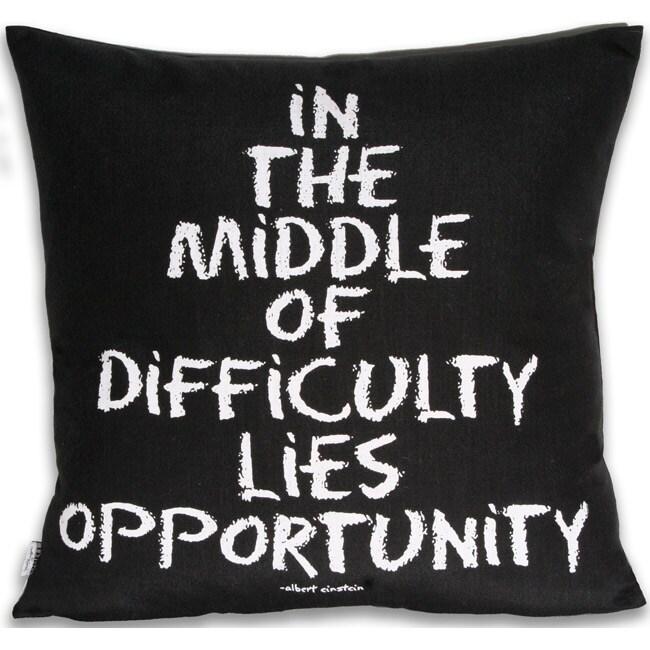 Inspirational 20x20-inch Pillow