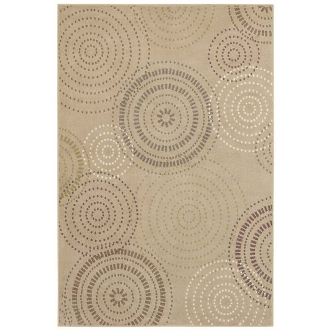 Tranquility Jules Beige Rug (7'9 x 10'10)