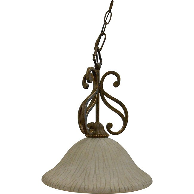 One Light Sienna Nook Pendant