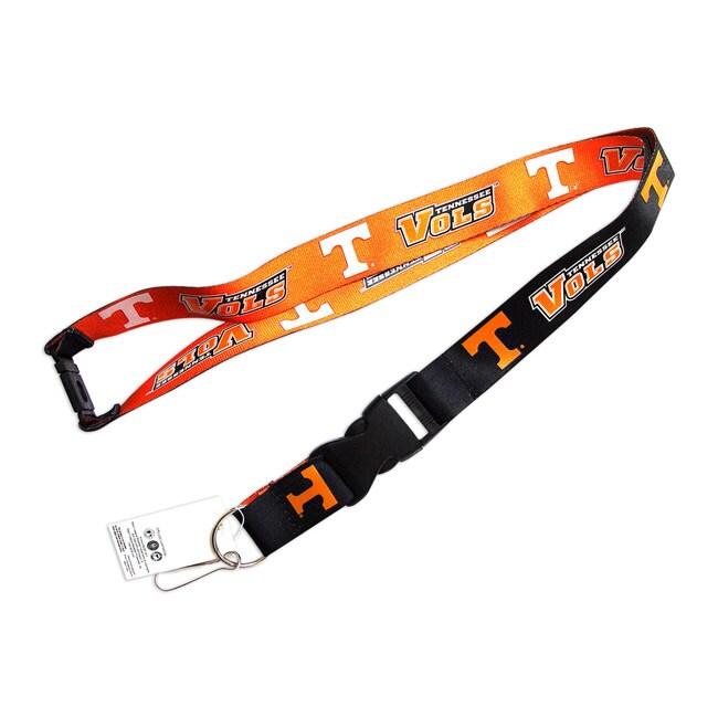 Tennessee Vols Volunteers Reversible Lanyard Keychain Ticket ID Holder