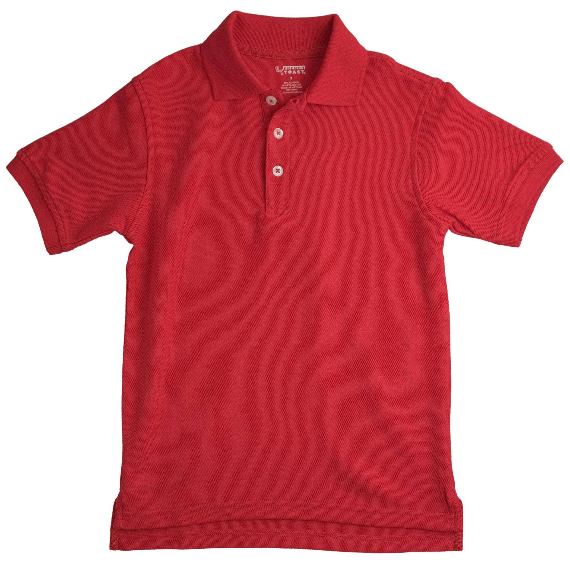 French Toast Boy's School Uniform Polo Size 14 (Set of 2)