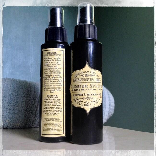 Johnson Sullivan Apothecary Summer Spritz 4-ounce Cooling Deodorant Spray