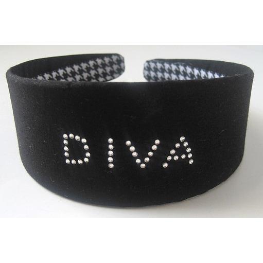 Crawford Corner Shop Black 'Diva' Headband