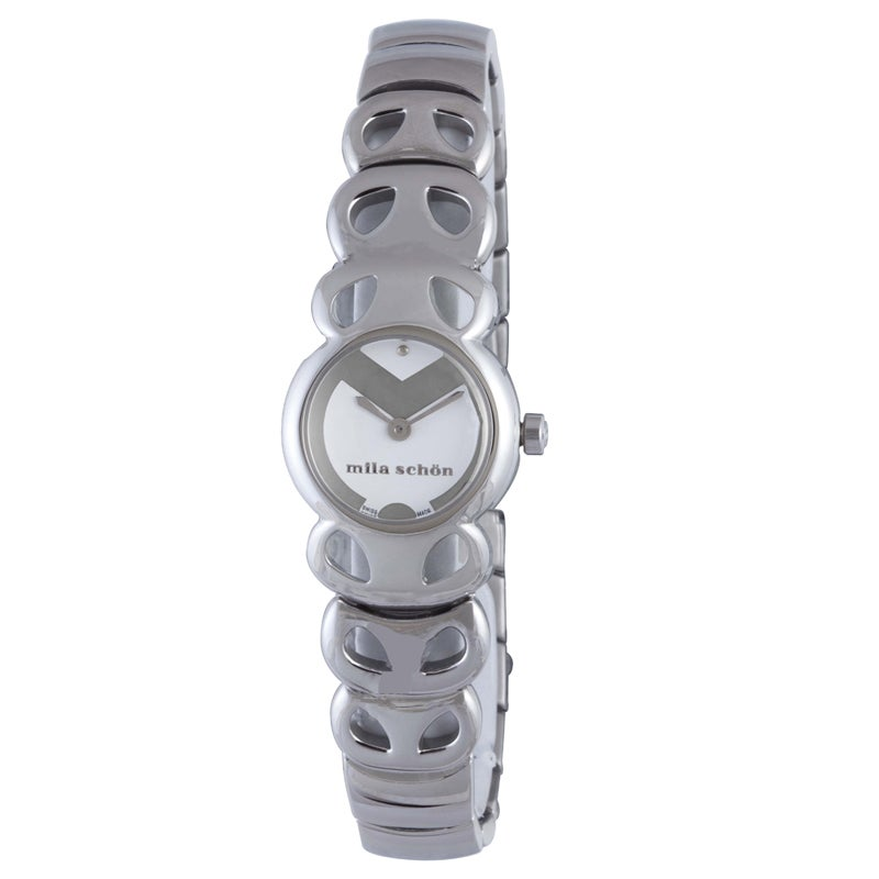 Mila Schon Woman's Stainless Steel Watch