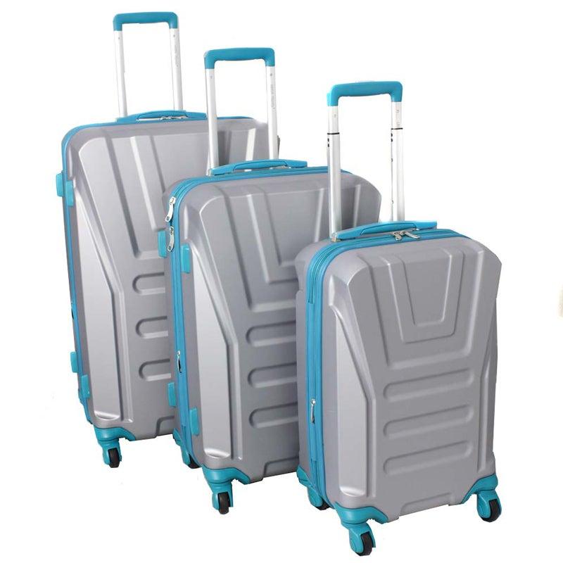 American Team Spirit 3-piece Lightweight Expandable Hardside Spinner Luggage Set With TSA Lock