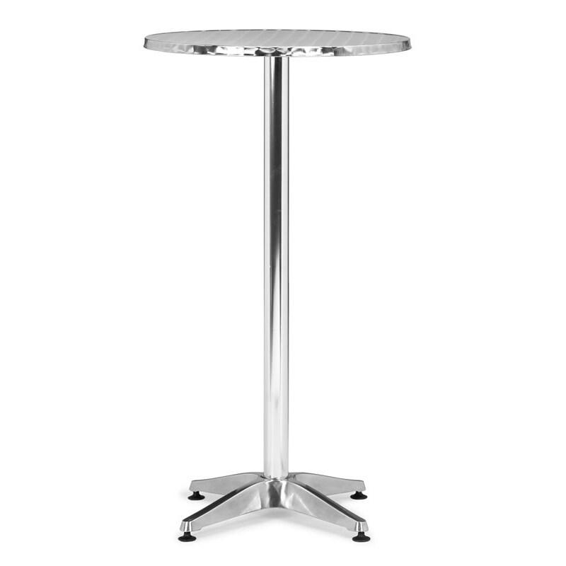Christabel Aluminum Folding Bar Table