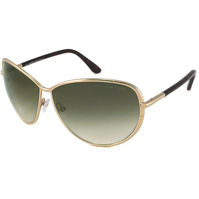 Tom Ford Women's TF181 TF0181 Francesca Gold Sunglasses