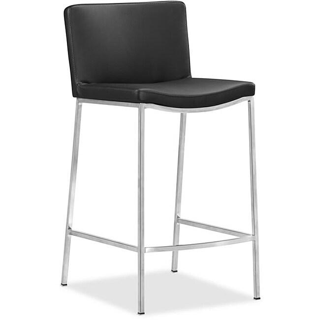 Curve Black Bar Chair (Set of 2)