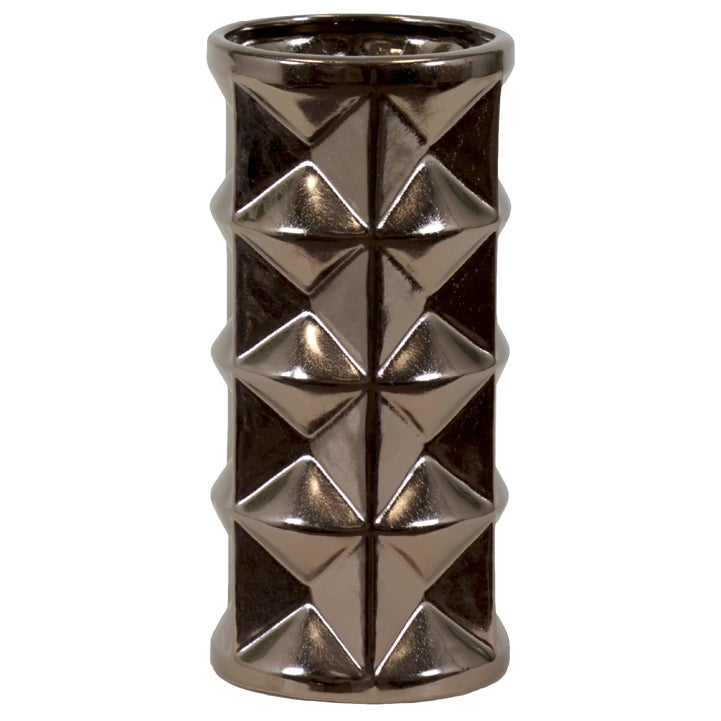 Urban Trends Collection Small Gold Ceramic Vase